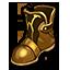 Shabby Brass Boots
