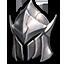 Faded Platinum Helmet