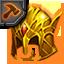 Helmet Enhance Material (Gold)