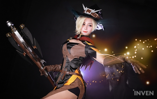 Overwatch] Halloween Mercy - RZ COS - Inven Global
