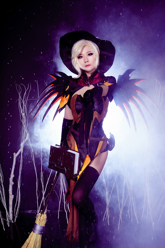 Overwatch] Halloween Mercy - TEAM JCOS - Inven Global