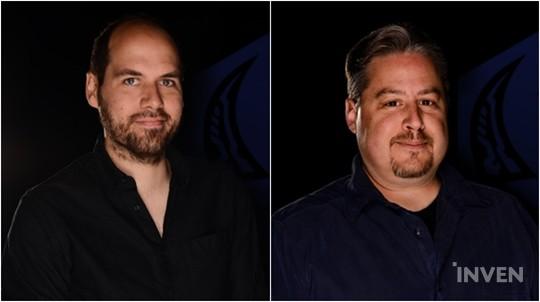 Heroes Developers Nathan LaMusga (left), Travis McGeathy (right)