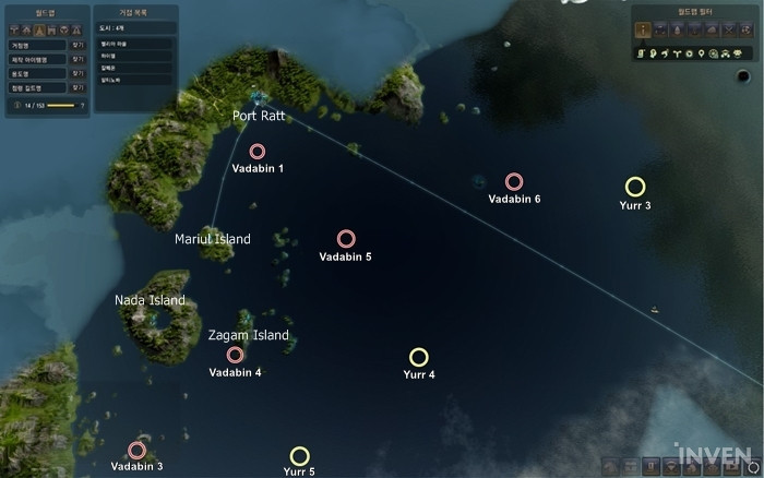 Bdo adventure how to reach port ratt via liner 15 nodes of detailed look at the nodes around vadabin sea gumiabroncs Image collections