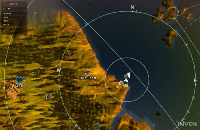 Bdo adventure how to reach port ratt via liner 15 nodes of there is a wharf on the east side of olvia coast gumiabroncs Images