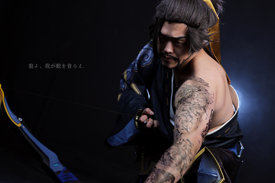 simple geometry hanzo cosplay rzcos inven global