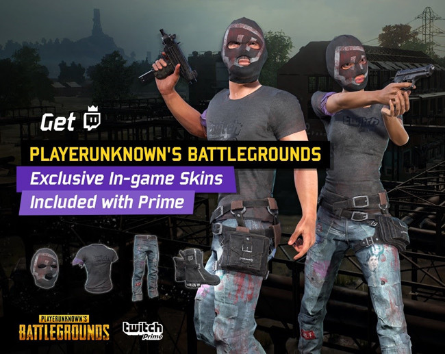 how to get new twitch prime skins