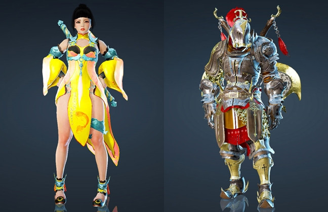 New Costumes For Tamer And Berserker Released On Black Desert Online