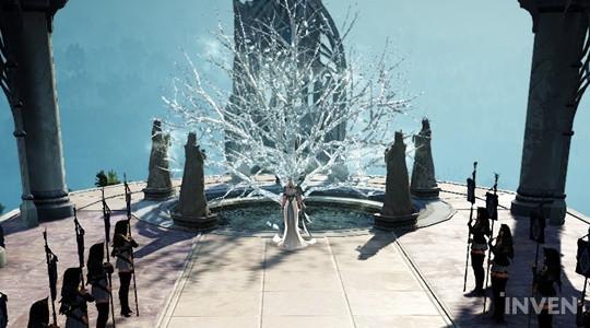 The new city in Black Desert Online called 'Grana