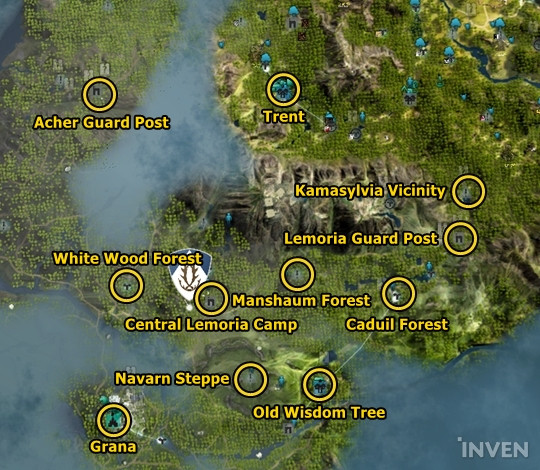 The new city in black desert online called grana kamasylvian grana grana is located to the west of the old wisdom tree gumiabroncs Images