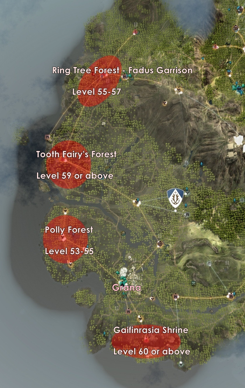 from level 55 to 60 new grind spots in kamasylvia part 2 revealed