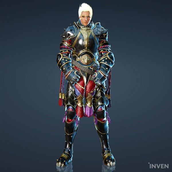 Black Desert Online's New Costume for the Striker - Onyx