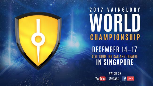 Vainglory 2017 World Championship Comes to Singapore's