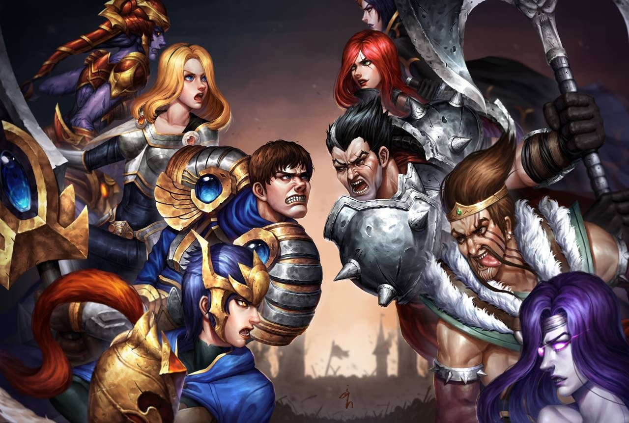 League Of Legends Noxus Vs Demacia | www.pixshark.com ...