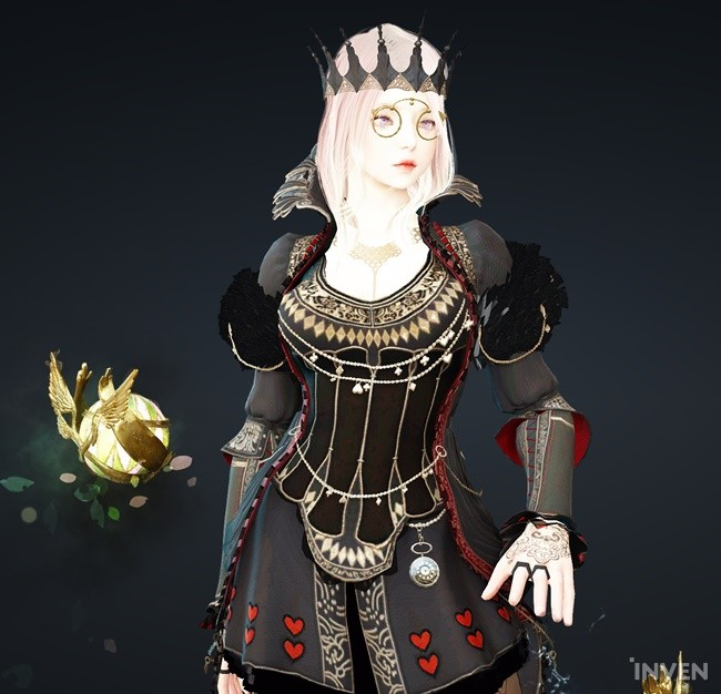 lovely mystic demonic queen outfit