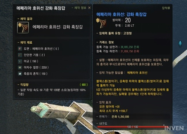 Black Desert Online: Information on the New Blue Accessories