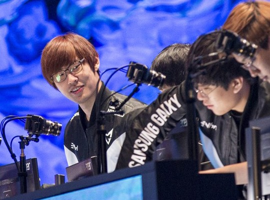 Being a frequent source of entertainment at this year's World Championship,  Samsung Galaxy's Ambition has claimed everyone's attention.