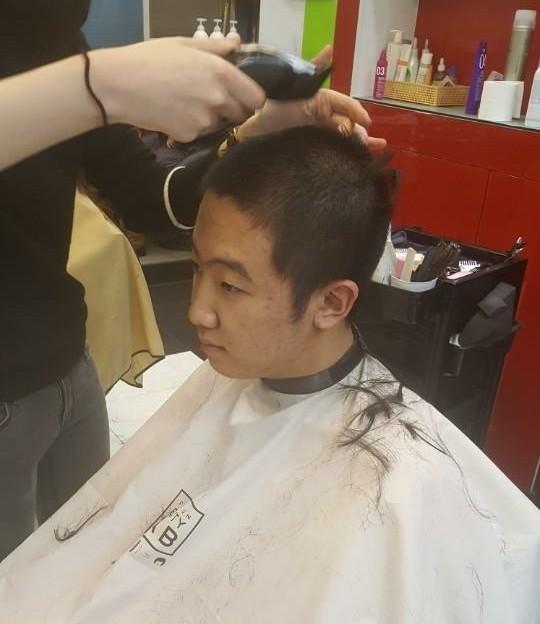 Asian male pubic hair