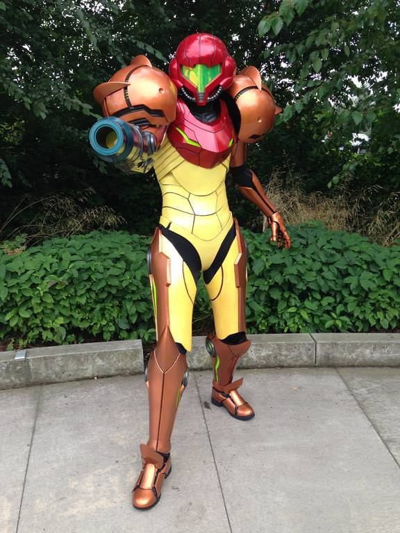 This Incredible Samus Cosplay 5 Years In The Making Will