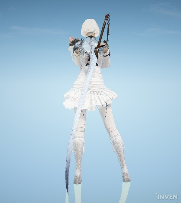 Black Desert Online: Snowflake Costume Set N released for