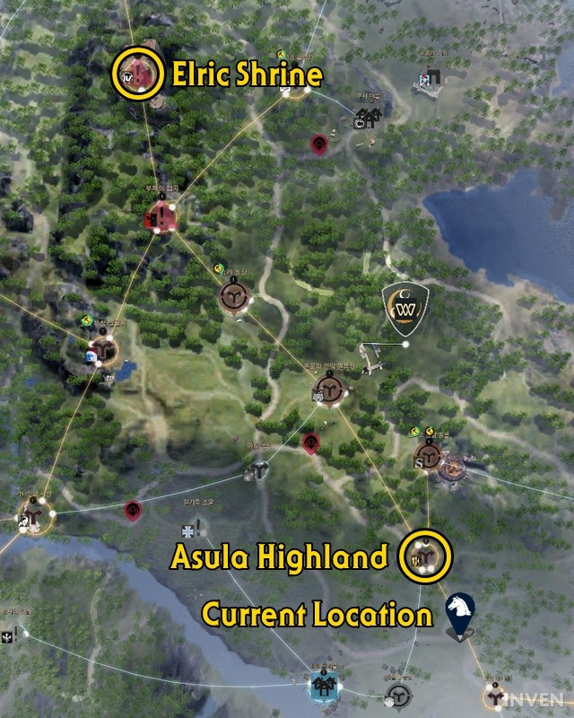 3d minimap added to bdo kr get a wide view of the detailed the distance between the two nodes in the world map gumiabroncs Choice Image