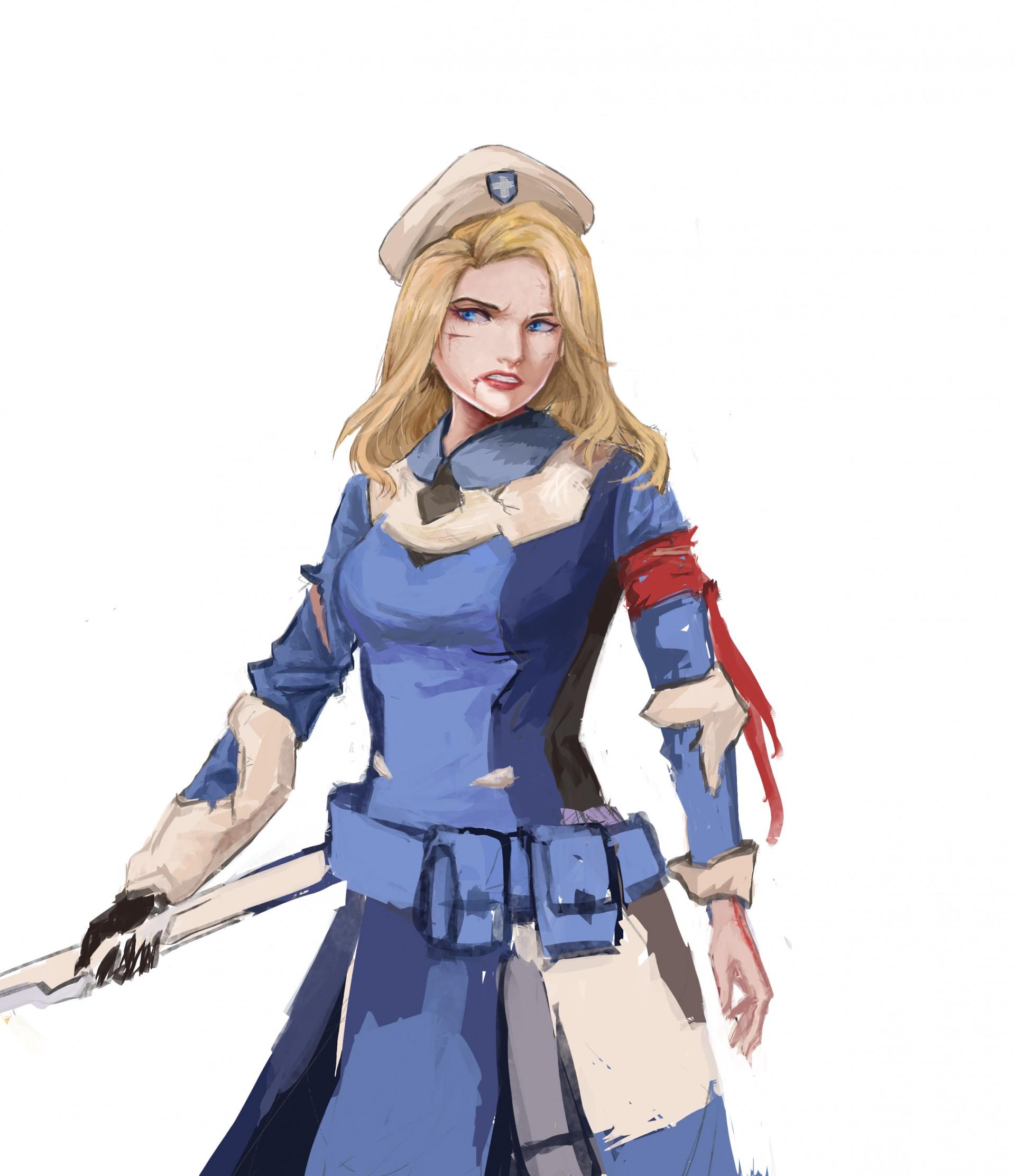 Combat medic ziegler cosplay
