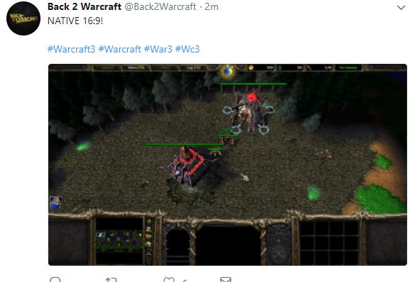 Warcraft 3 just got a huge patch