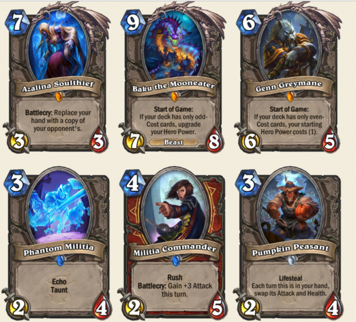 Hearthstone Witchwood Expansion Announced, Adds 135 New Cards