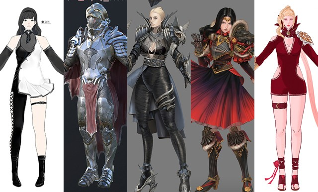 Black Desert Online: Gothic Dress or Royal Armor? 127