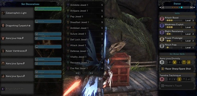 Monster Hunter: World: MHW: Early and End-Game Builds For