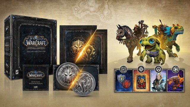 Battle for Azeroth Collector's Edition features a massive 1lb coin
