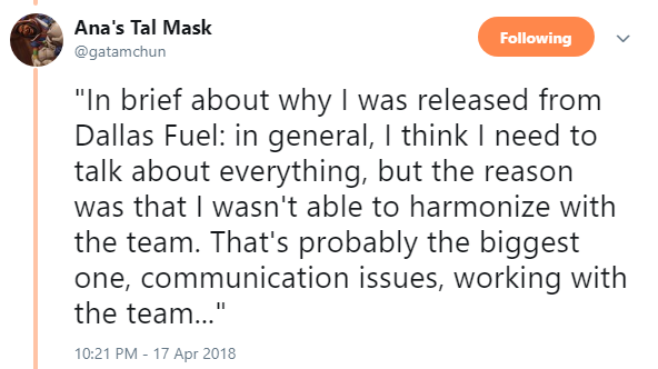 Overwatch: Dallas Fuel's downfall to SF Shock: Moving on without