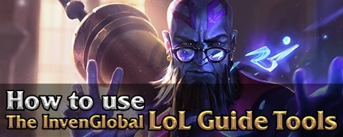 League of Legends Strategy Builds & Guides - Invenglobal