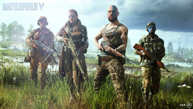EA Announces Battlefield V Launching Worldwide on October 19