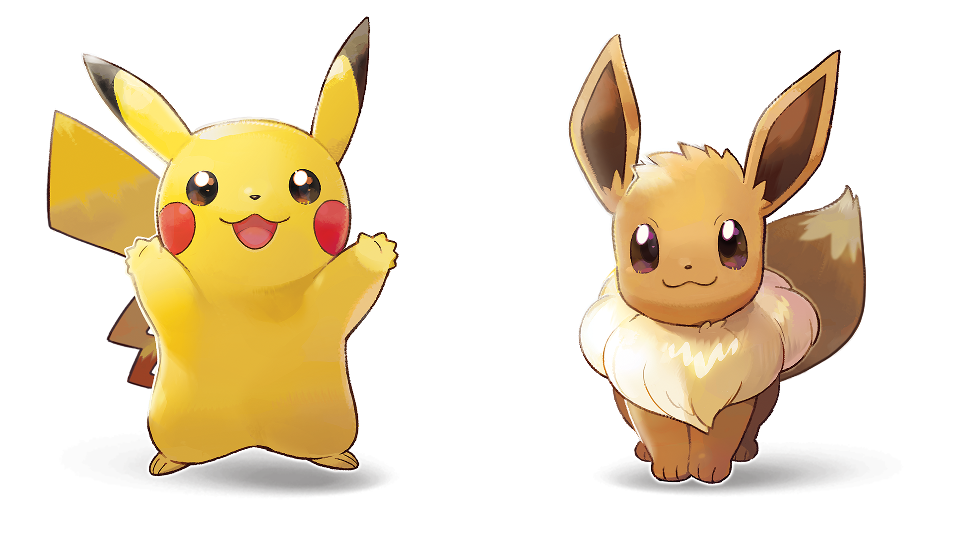 Pokemon Let S Go Pikachu Et Let S Go Evoli Pixels