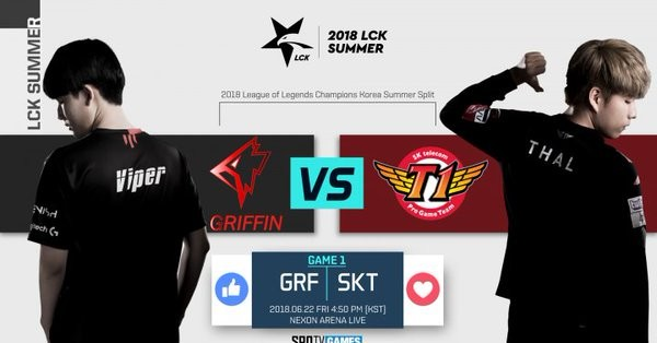 4835138fe [KR Reactions] LCK Day 10 SKT T1 vs Griffin: