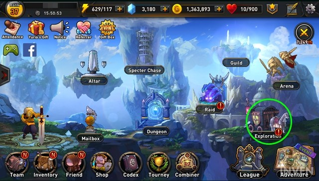 Basic Guide to Exploration in Returners: Use Idle Heroes to Loot