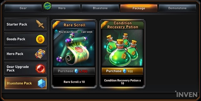 Returners Shop Basics: Draw 11 Gear at Once and Use Gold to