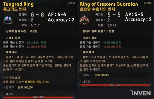 Bdo Crescent Guardian Ring