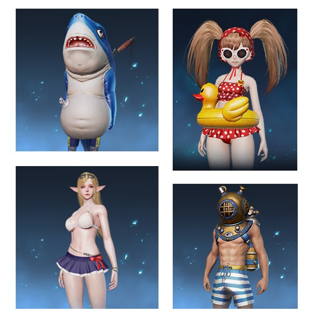 "cda003de89 Along with the new swimsuit costumes, players will also be able to face off  the Queen Ant's Cave clan dungeon with ""Very Hard"" difficulty."