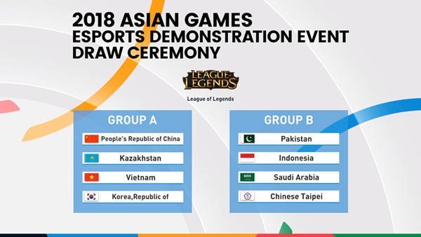 League of Legends: 2018 Asian Games LoL Event Draw: Korea