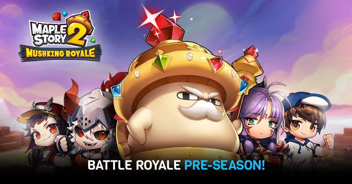 MapleStory 2 has spawned the most casual, cutesy Battle Royale in