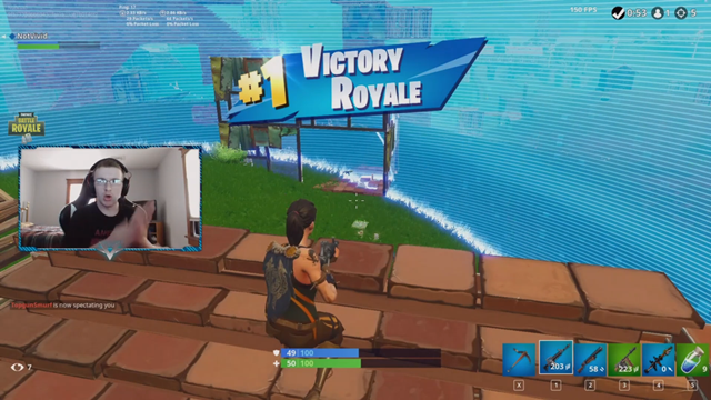 image captured from fortnite twitch channel - tsm team fortnite members
