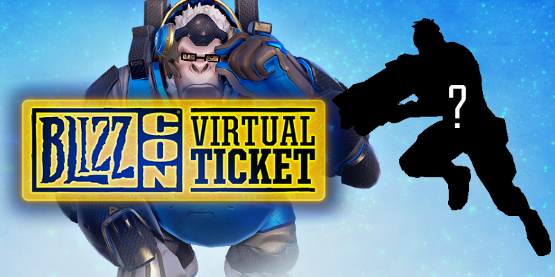 Unlock a new Legendary Overwatch skin with the BlizzCon Virtual Ticket