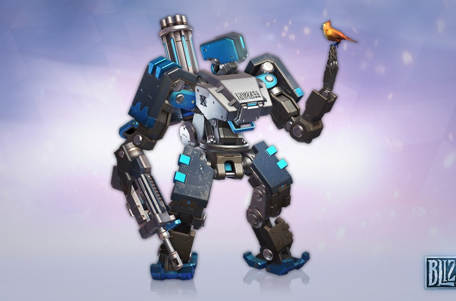 First look at exclusive BlizzCon 2018 Overwatch skin streamed today