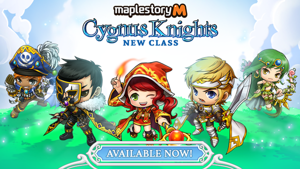 "MapleStory M Introduces New ""Cygnus Knights"" Class - Inven"