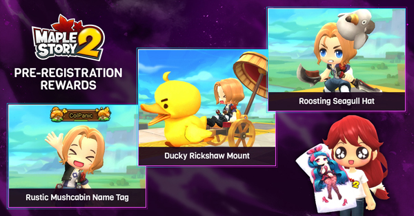 Pre-Registration for MapleStory 2 Starts Today! - Inven Global