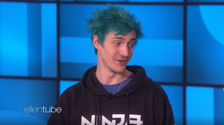 Watch Ninja Play 'Fortnite' With Ellen DeGeneres