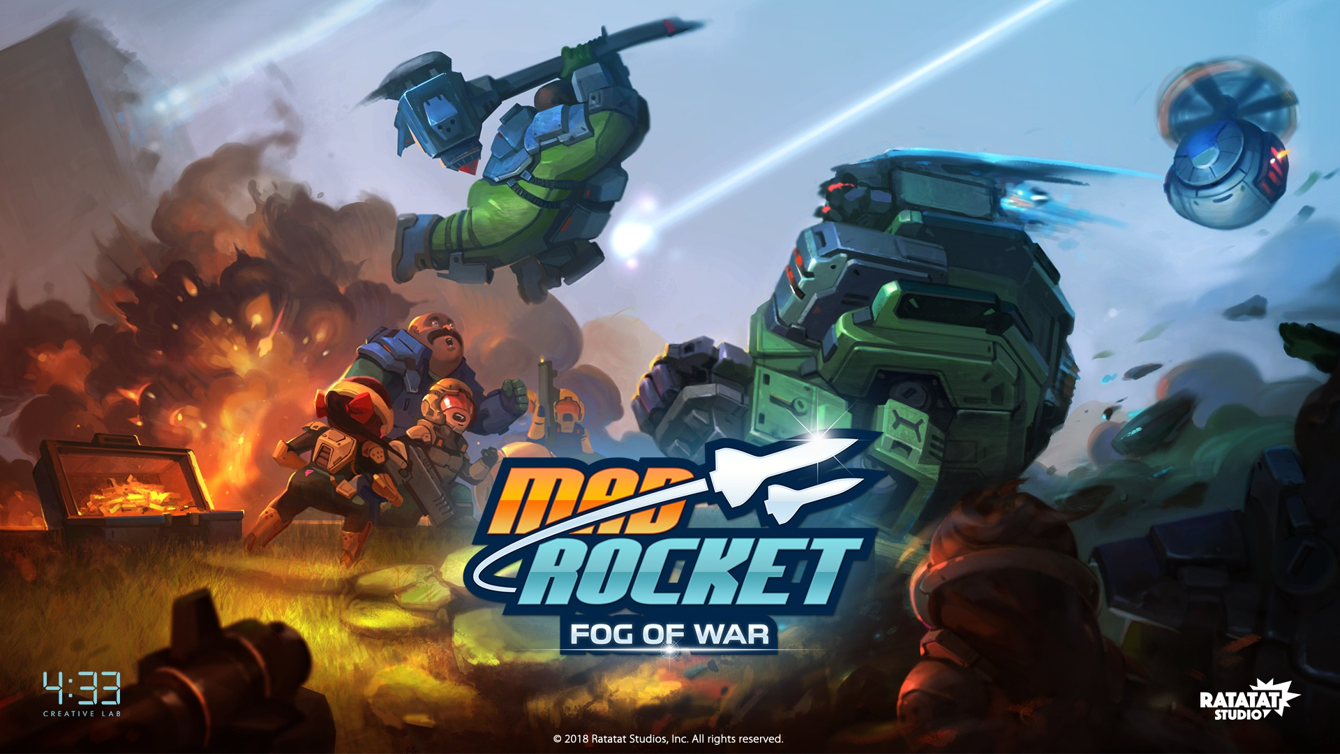 Fourthirtythrees New Mobile Strategy Game Mad Rocket Fog Of War