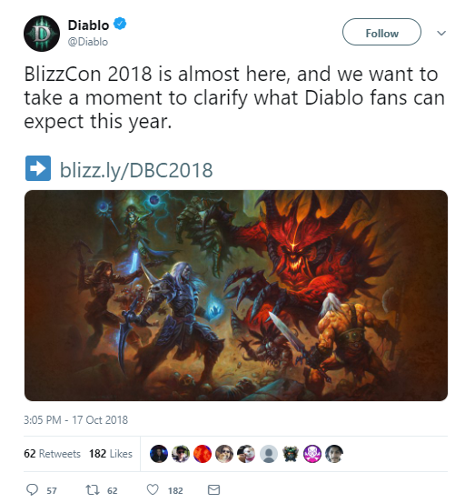 Don't Expect Big Diablo News At BlizzCon, Blizzard Warns