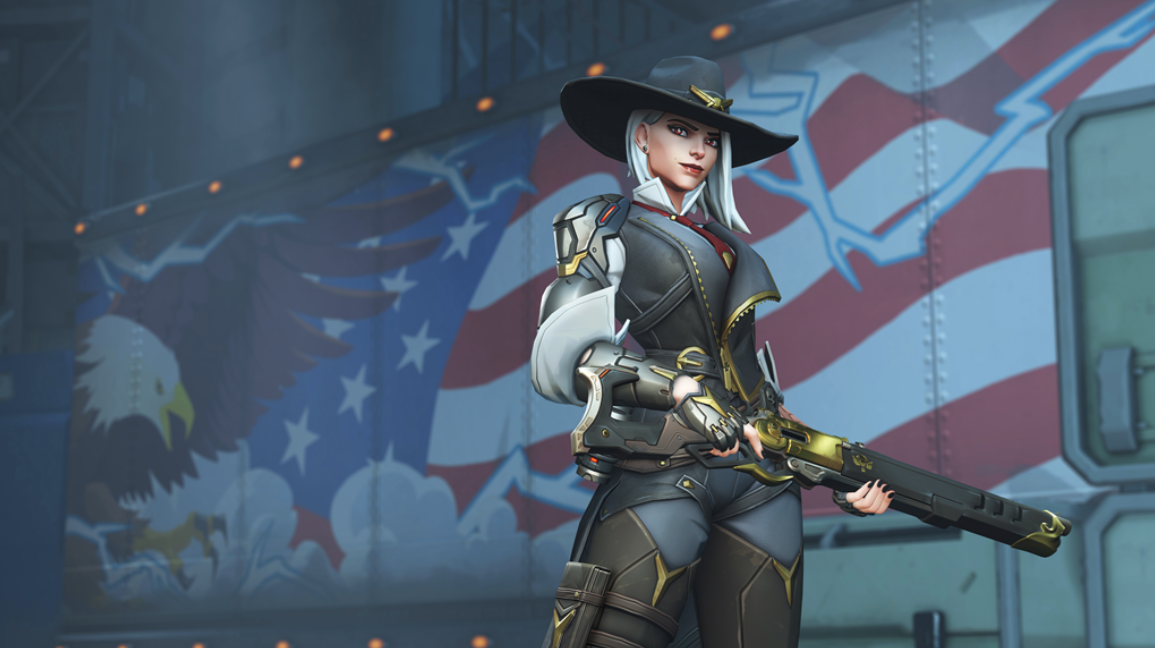 The voice behind Overwatch's newest hero, Ashe, is industry